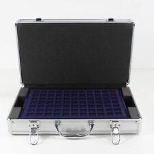 Universal Aluminium Münzkoffer mit 5 Münztableaus für 205 Münzen 2 5 10 20 Euro