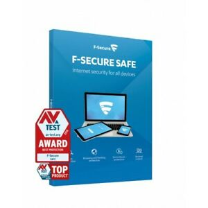 F-SECURE SAFE INTERNET SECURITY 2021 - FOR 5 PC MULTI DEVICE - 1 YEAR - Download