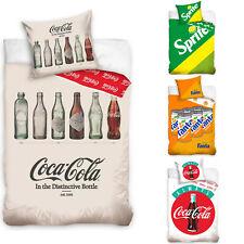 Coca Cola Fanta Sprite Bettwäsche 2tlg Set 135 140x200 Baumwolle Bettwaren NEU