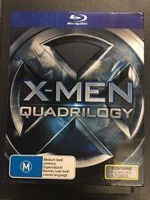 X-MEN QUADRILOGY -- X-MEN 1-4 QUADRILOGY   BLU-RAY Region B