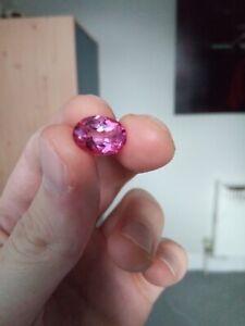 Natural loose Mystic pink topaz gemstone- size 14x10 shape oval