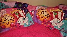 SHOPKINS Bedspread Full Size COMFORTER Quilt like Blanket & 2 Pillow Shams