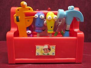 Disney Handy Manny Talking Singing Dancing Tool Box 100% Complete