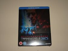 Terminator 2 Judgment Day 3D Blu-ray Steelbook Brand New Limited Edition