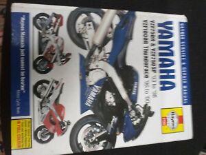 haynes manual motorbike yamaha yzf750r yzf750sp yzf1000r thunderace