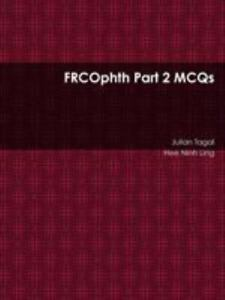 FRCOphth Part 2 MCQs, Like New Used, Free shipping in the US