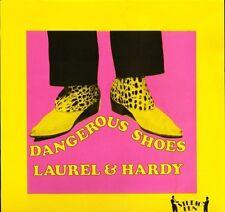 """Laurel et Hardy dangereux Chaussures T 7 uk debout 1983 12"""" PS EX/EX"""