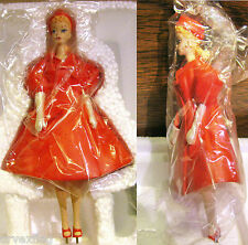 Danbury Mint 1962 Barbie Red Flare ©1995 Mattel Mib Never Displayed w Coa