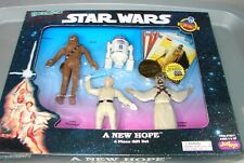 Star Wars Bendems Set ANH E 4 IV w cards and coin RARE Just Toys   913