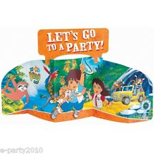 GO DIEGO GO! STAND-UP CENTERPIECE ~ Birthday Party Supplies Table Decorations