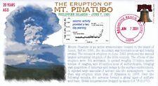 COVERSCAPE computer designed Mt. Pinatubo 20th cover