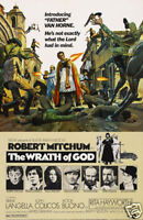 The wrath of God Robert Mitchum vintage movie poster print