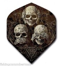 "RUTHLESS ALCHEMY ""SEE SPEAK HEAR NO EVIL"" STRONG DART FLIGHTS"