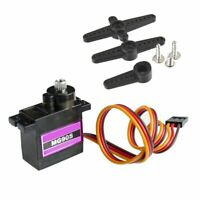 MG90S Metal Gear High Speed Micro Servo for RC Car Helicopter Plane New QA A6I7