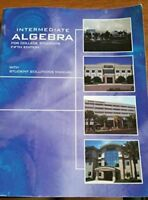 Intermediate Algebra For College Students Dvd Combo, Fifth Edition