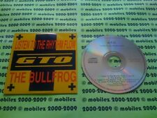 GTO - Listen To The Rhythm Flow - REACT CD12001 - Bullfrog - CD Single - G.T.O.