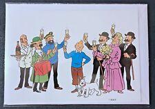 Postogram Tintin de La Poste Belge, complet avec enveloppe et pochette originale