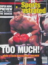 MIKE TYSON - TOO MUCH FOR HOLMES February 1, 1988 SPORTS ILLUSTRATED Magazine