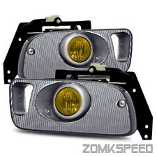 Fits 92-95 Civic Coupe/Hatchback EG JDM Yellow Fog Lights Bumper Driving Lamps