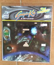 PS1 SPACE WORLD ALIEN INVADERS Graphic Kit Cover Playstation 1 Sony Videogame