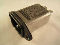 Schaffner FN9222-10-06 Mains Filter IEC Input Socket 250VAC 10A OM0387