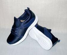DT New York B371143 Herren Schuhe Freizeit Sport Turn Sneaker 42 UK 8 Navy Weiß