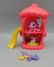 Littlest Pet Shop Hydrant Hangout Lot LPS Play Set