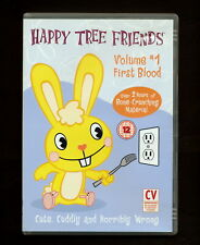 Happy Tree Friends - Volume 1: First Blood (DVD, 2003) (REGION 2 not for USA)