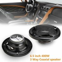 Car Speaker 6.5 Inch 400W Sub Woofer HIFI Coaxial Rear/Front Door Stereo Speaker