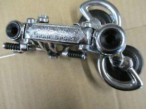 CAMPAGNOLO GRAN SPORT STEEL REAR DERAILLEUR  50's--60's  NOS.