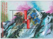 "Switzerland - ""BIRDS ~ EAGLE ~ ALPS ~ PHILATELIC EXHIBITION"" MNH MS 2003 !"