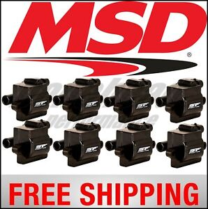 MSD Ignition Coil, Street Fire, GM L-Series Truck 99-09, 8-Pack