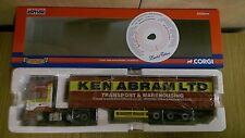 CORGI CC13907 FODEN ALPHA Curtainside Ken Abram Ltd Edition No 0002 de 2510