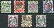 1903/4 - MALTA - SET OF 7, USED