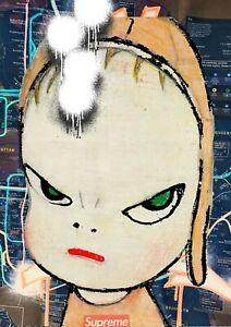 45x32cm Death NYC Ltd Ed LARGE Signed Graffiti Pop Art Print AL8