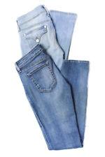 Koral Hudson Womens Classic Rise Slim Leg Jeans Blue Size 28 Lot 2