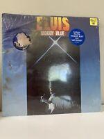 Moody Blue by Elvis Presley LP blue vinyl still sealed