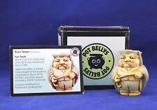 Harmony Kingdom Figurine Ball Pot Bellys Brain Teaser Pbppr 2001 W/Box