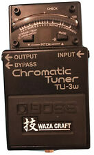 BOSS WAZA TU-3W Chromatic Tuner  EXCELLENT CONDITION RARELY USED