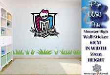 Monster High Wall Art Autocollant Enfants Chambre Mur Decal Large