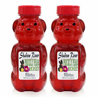 Shadow River Gourmet Prickly Pear Cactus All Natural Honey 12 oz Bear Pack of 2