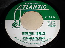 Harmonizing Four: There Will Be Peace 45 - Black Gospel
