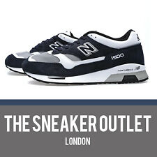 Mens New Balance 1500 NWG Trainers UK Size 8.5 Navy Suede Made In England