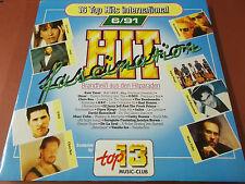 TOP 13 MUSIC CLUB 6/91: HIT FASCINATION: VINYL LP: OMD: CHRIS REA: DE LA SOUL