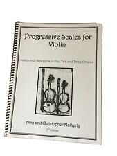 Progressive Scales For Violin By Amy And Christopher Matherly