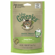GREENIES Feline Catnip Flavor Dental Treats - 71g
