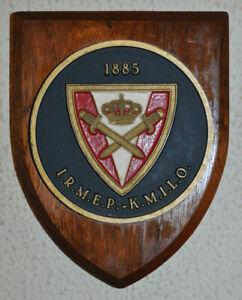 Belgian Royal Physical Training Institute IRMEP - KMILO regimental mess plaque