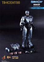 In Stock! Hot Toys MMS202D04 Robocop 1/6 Diecast Alex Murphy Sound Effect Figure