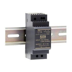 Schalt-Netzteil 5V 3A 15W für Hut-Schiene DIN-Rail HDR-30-5 von Meanwell