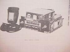 1979 DELCO GM BUICK OLDSMOBILE CB/8-TRACK TAPE/AM-FM STEREO RADIO SERVICE MANUAL